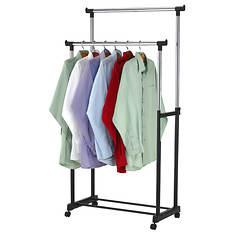 Sunbeam Double Garment Rack