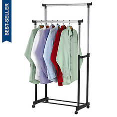 Sunbeam Double Garment Rack