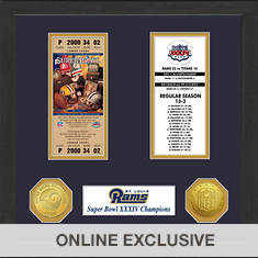 Super Bowl Ticket Collection-Rams