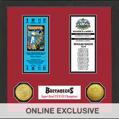 Super Bowl Ticket Collection-Buccaneers