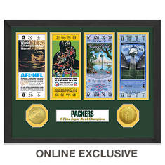 Super Bowl Ticket Collection-Packers