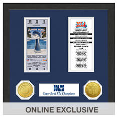 Super Bowl Ticket Collection-Indianapolis Colts
