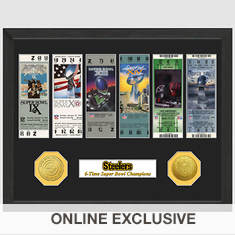 Super Bowl Ticket Collection-Steelers