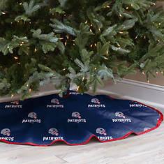 NFL Tree Skirt-Patriots