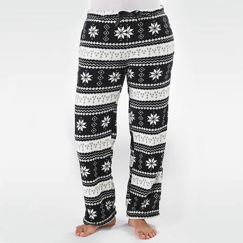 Nordic Faux Fur Lined Lounge Pants