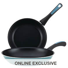 "Paula Deen Riverbend 9.25"" and 11.5"" Skillets"