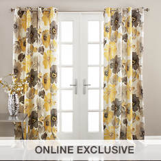 Lush Décor - Leah Window Curtains