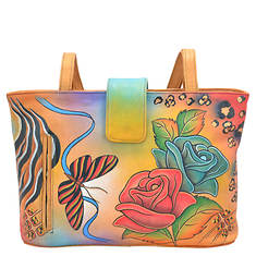 Anna by Anuschka Medium Tote Magnetic Snap