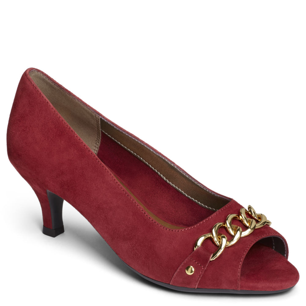 Aerosoles Made of Honor Women's Red Pump 10 M -  adult