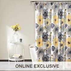 Lush Décor - Leah Shower Curtain