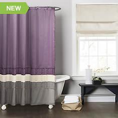 Lush Décor - Mia Shower Curtain