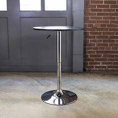 AmeriHome Wood Top Round Bistro Table