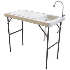 Sportsman Series Folding Fish Table with Faucet