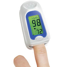 Color-Coded Fingertip Pulse Oximeter