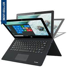 """Iview 13.3"""" Convertible Touch Screen Laptop"""