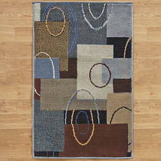 """7'10""""x10'6"""" Fashion Patterned Area Rug"""