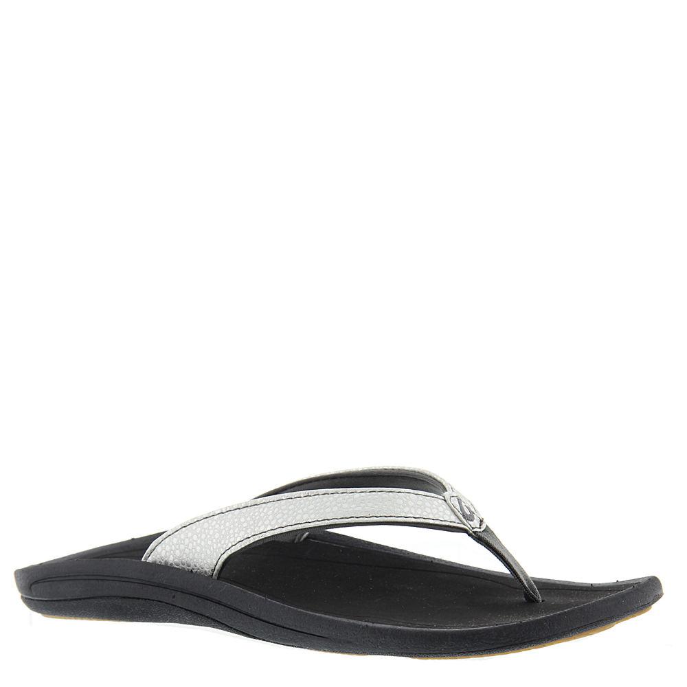 OluKai Kulapa Kai Women's Silver Sandal 7 M