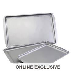 Farberware Nonstick 3-Piece Cookie Pan Set