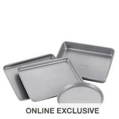 Farberware Nonstick 4-Piece Toaster Oven Set