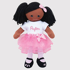 Personalized African American Ballerina Doll