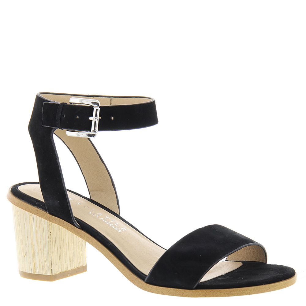 Very Volatile Unicorn Women's Black Sandal 9 M -  190299115469
