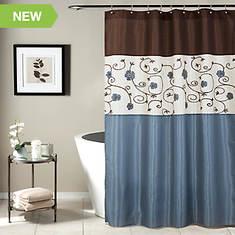 Lush Décor - Royal Garden Shower Curtain