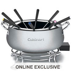 Cuisinart 3-Quart Electric Fondue Pot