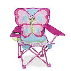 Melissa & Doug Cutie Pie Butterfly Camp Chair