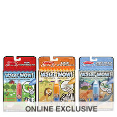 Melissa & Doug Water Wow! Farm, Safari, &  Sea