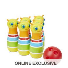 Melissa & Doug Giddy Buggy Bowling Set