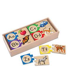 Melissa & Doug Letter Puzzles