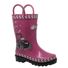 """Case IH 3D """"Fern Farmall"""" Rubber Boot (Kids Toddler-Youth)"""