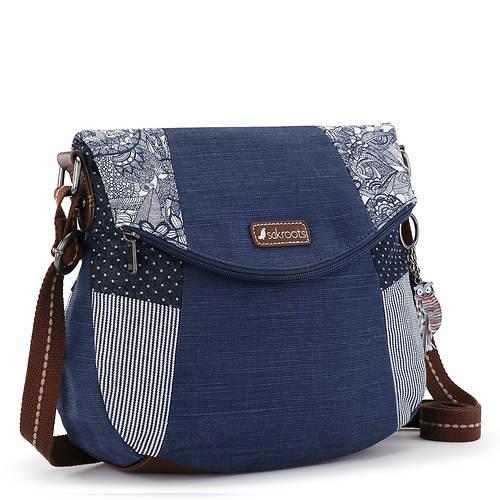 Sakroots Foldover Crossbody Bag