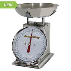 Sportsman Series 44-Lb. Stainless Steel Dial Scale