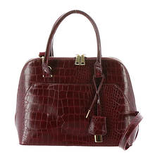 Bombshell Embossed Satchel