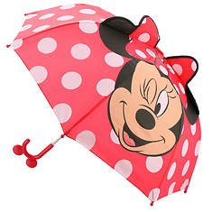 Western Chief Girls' Minnie Mouse Umbrella