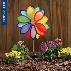 Solar Light Pinwheel