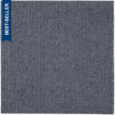 Peel and Stick Carpet Tiles-Smoke