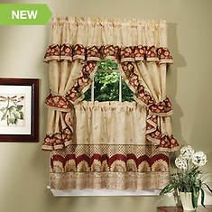 Sunflower Cottage Window Treatment Set
