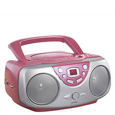 Sylvania CD Boom Box with AM/FM Radio