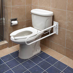 HealthSmart Fold-Away Wall-Mount Grab Bar