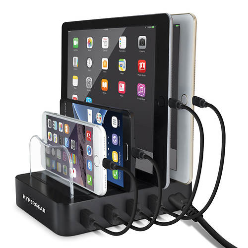 HyperGear 4-Port USB Charging Station
