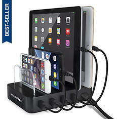 HyperGear 4-Port USB Charging Station