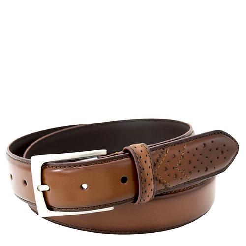 Florsheim 32mm Wing Tip Leather Belt