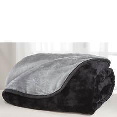 All-Seasons Reversible Plush Microfiber Blanket