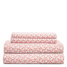 Hotel Coastal Print Sheet Set