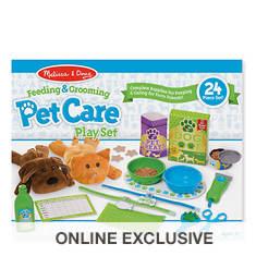 Melissa & Doug Feeding & Grooming Pet Play Set