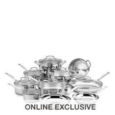 Cuisinart Chef's Classic 17-Piece Cookware Set
