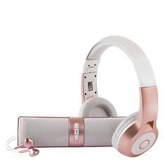 Vivitar Speaker, Headphones & Earbuds Combo