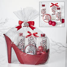 6-Piece Frosted Cranberry Set
